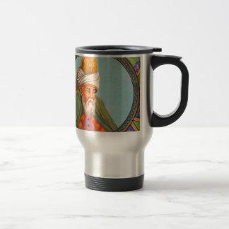 rumi portrait travel mug