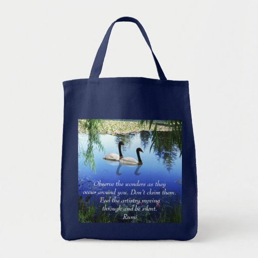 Rumi The wonders Tote Bags