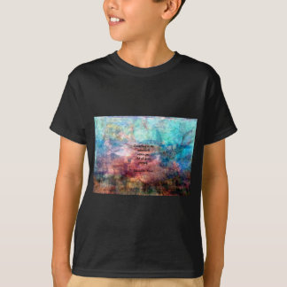 Rumi Uplifting Quote About Energy And Universe T-Shirt