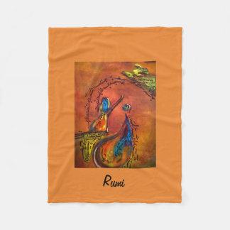 Rumi's Rediscovery Fleece Blanket