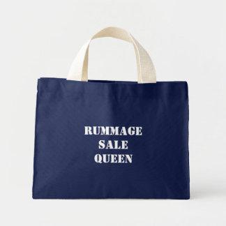 RUMMAGESALE QUEEN MINI TOTE BAG