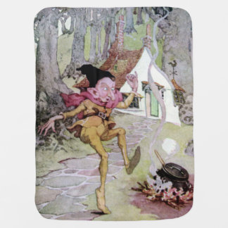 Rumplestiltskin by Anne Anderson Kids Fairy Tale Buggy Blanket