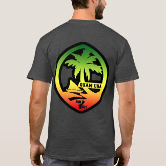 RUN 671 GUAM Distressed Reggae Seal T-Shirt