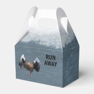 Run away favour box