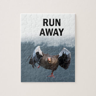 Run away jigsaw puzzle