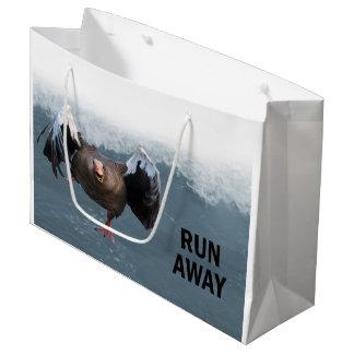 Run away large gift bag