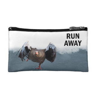 Run away makeup bag