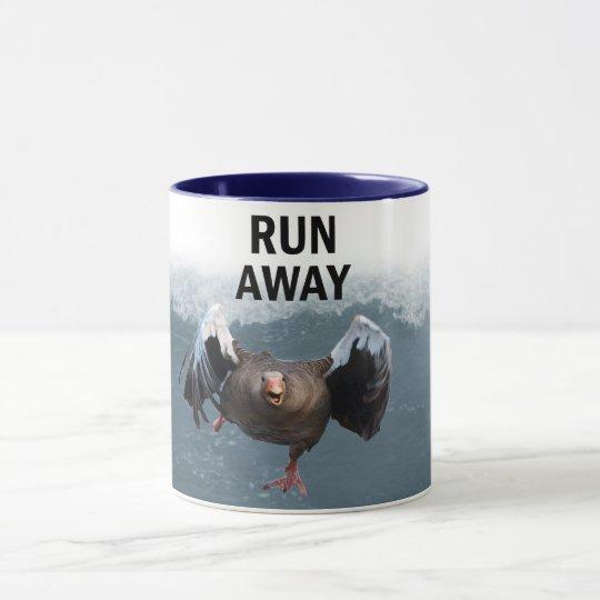 Run away mug