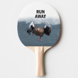 Run away ping pong paddle