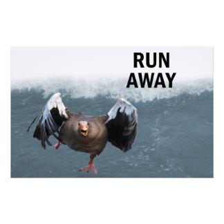 Run away stationery
