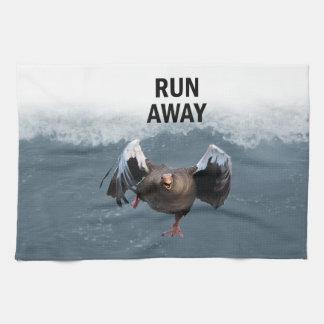 Run away tea towel
