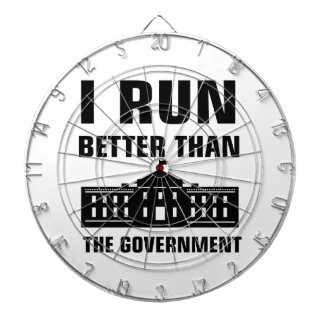 Run better than the Government Dartboard
