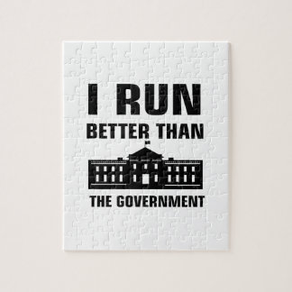 Run better than the Government Jigsaw Puzzle