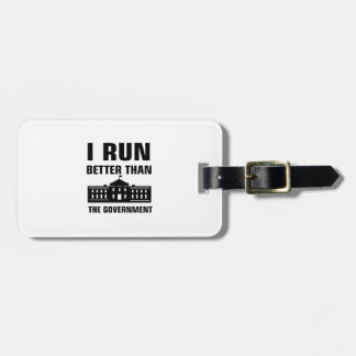 Run better than the Government Luggage Tag