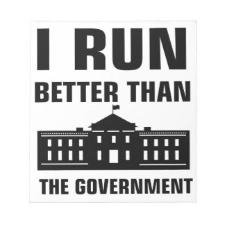 Run better than the Government Notepad