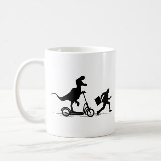 Run Bob Run Basic White Mug