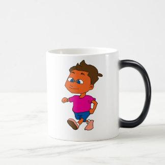 run boy magic mug
