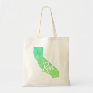 Run California Tote Bag
