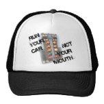 Run Car Not Mouth Hats