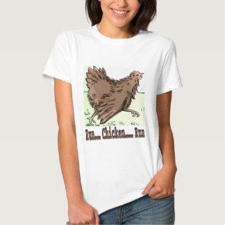 Run Chicken Run T Shirt