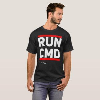 Run CMD T-Shirt Computer Geek Humor