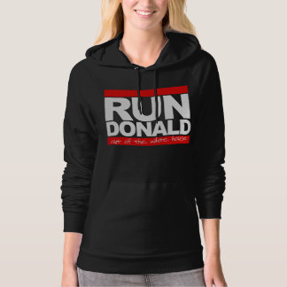 Run Donald Out of the White House - - white - Hoodie