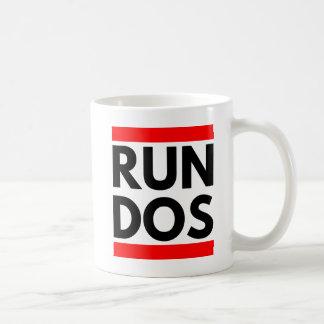 RUN DOS COFFEE MUG