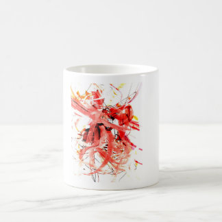 """RUN !!!"" - Expressionist Fine Art Coffee Mug"