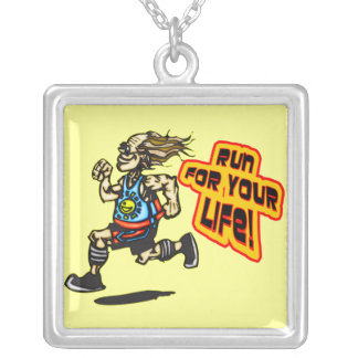 Run For Your Life Pendant