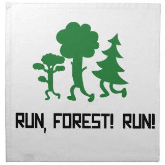 Run, Forest! RUN! Napkin
