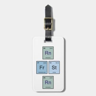 Run Forrest Run Luggage Tag