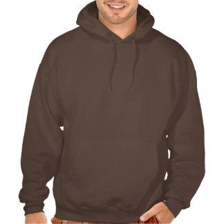 Run Free Berner Puppy men's hooded sweatshirt