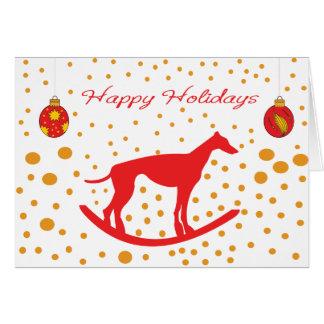 Run Free - Save the Greyhounds! Card