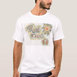 run free shirt by brian