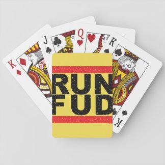 RUN FUD PLAYING CARDS