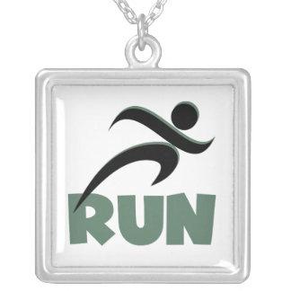 RUN Green Custom Jewelry
