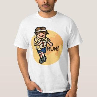 run in the sun. tee shirt