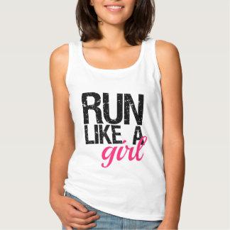 Run Like a Girl Women's Tank