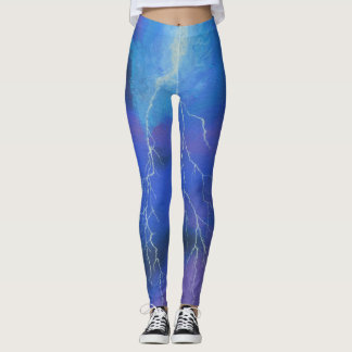 Run Like Lightning - Leggings