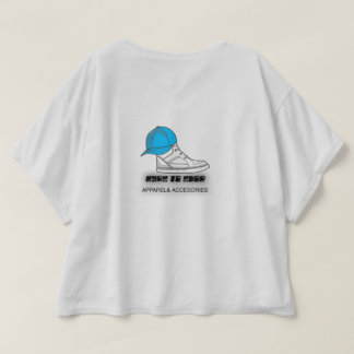 'Run Like the Wind' Women's Short Sleeve Crop Top