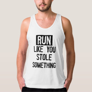 Run Like You Stole Something Singlet