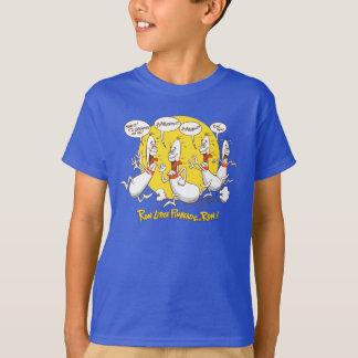 Run Little Bowling Pinheads T-shirt
