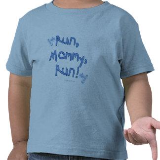 Run Mommy Run - Blue T-shirt