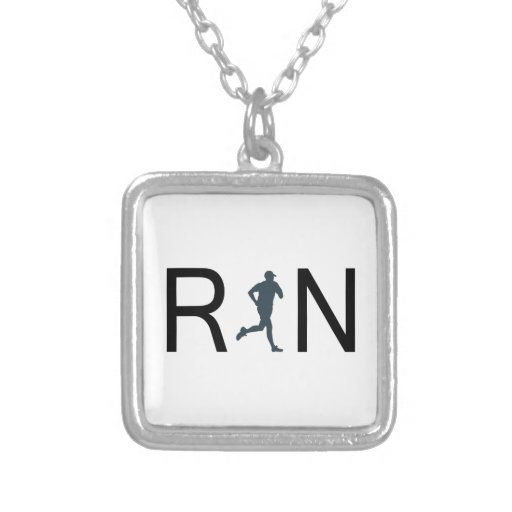 Run Personalized Necklace