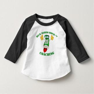 Run Nerds Rock, Toddler 3/4 Sleeve Raglan T-Shirt
