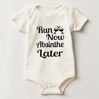 Run Now Absinthe Later Baby Bodysuit
