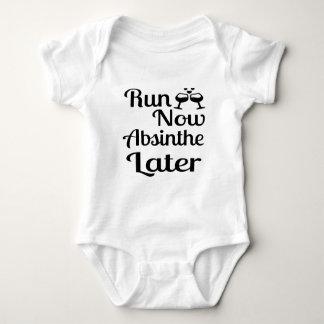 Run Now Absinthe Later Baby Bodysuit