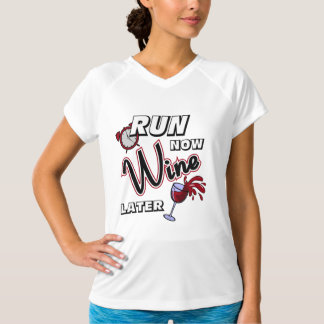 Run Now Wine Later - Champion SS T-Shirt