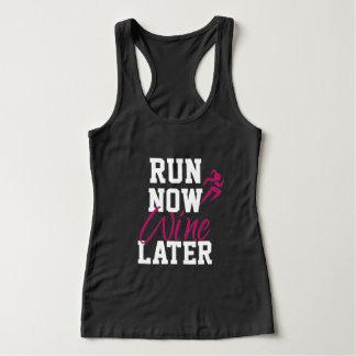 Run Now Wine Later Singlet