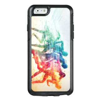 run,person,speed, OtterBox iPhone 6/6s case